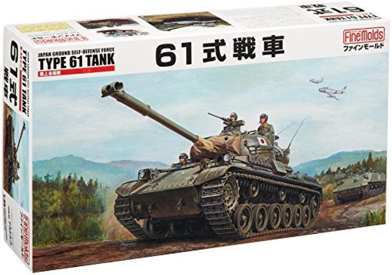 descuentos y mas 1 35 Ground Self-Defense Force Type 61 61 61 Tank by Fine Molds  opciones a bajo precio