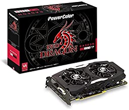 PowerColor Video Graphic Cards AXRX 480 4GBD5-3DHD