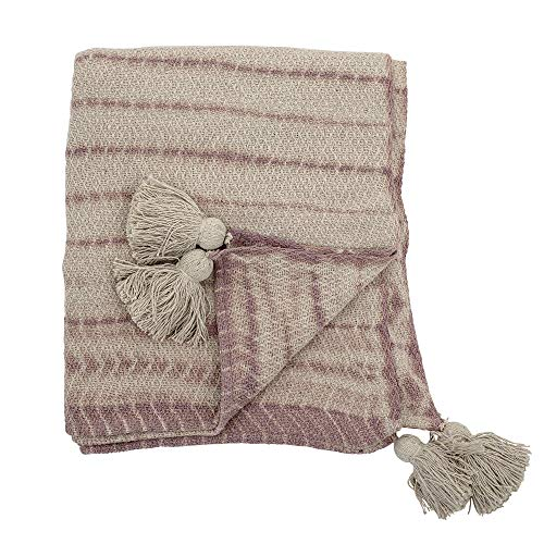 Bloomingville Tagesdecke, rosa, Cotton
