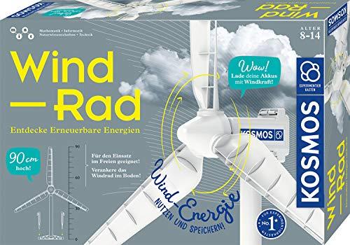 KOSMOS 620592 Wind-Rad Experimentierkasten, Entdecke erneuerbare Energien