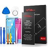 FLYLINKTECH Batterie Interne pour iPhone 6 Plus 3500 mAh,Remplacement Haute capacité avec 20% de Plus Que Les Autres Batteries iPhone 6 Plus en Li-Polymer Batterie,avec kit d'Outils de réparatio