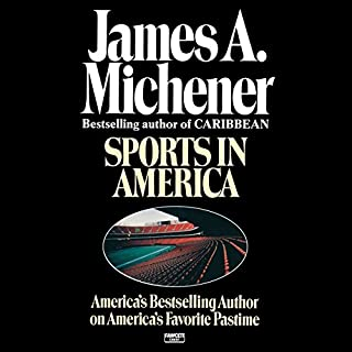 Sports in America audiobook cover art