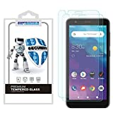 (2 Pack) CaptainShld for ZTE (Blade Vantage 2) Tempered Glass Screen Protector, Anti Scratch, 9H Hardness, Bubble Free