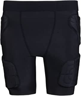 Kids Padded Compression Shorts Protective Underwear Hip Butt Pad Short Pants