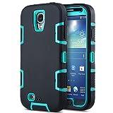 ULAK S4 Case, Galaxy S4 Case, 3in1 Combo Hybrid Hard Rigid