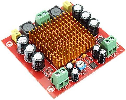 Módulo electrónico DC 12V 24V 150W TPA3116DA TPA3116 D2 Mono Canal Amplificador de audio de energía digital Amplificador Amplificador XH-M544 Equipo electrónico de alta precisión