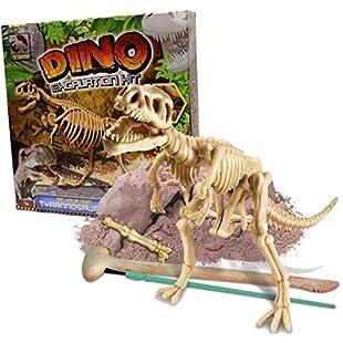 Grafix Dino Excavation Kit Dinosaur Fossils Digging Dig Your Own T-Rex Skeleton