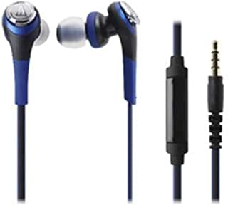 Audio Technica SOLID BASS for Smartphone Inner Ear Headphones Blue ATH-CKS550iS BL