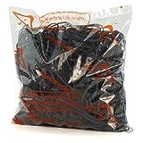 Hangerworld 454 Gomas Elásticas para Oficina Manualidades Embalaje 125mm x 3mm Negro