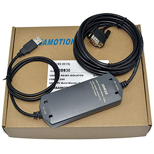 1Pack USB/PPI + 6ES7901–3DB30–0X A0PLC, No Touch Bildschirm Programmierung Kabel unterstützt mehrere Master Station 187.5KB mit Fotoelektrischer Isolation