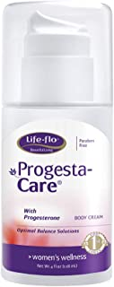 Life-Flo Progesta-Care with Natural Progesterone USP from Wild Yam | Physician-Developed Body Cream for Optimal Balance | 4-oz Pump