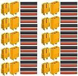 RUNCCI-YUN XT60 Conectores de batería para,XT60 Alta Corriente Conector de la batería para batería RC lipo