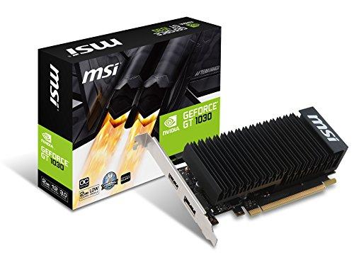 MSI NVIDIA GeForce GT 10302GH LP OC 2GB GDDR564bit, PCI Express–nero