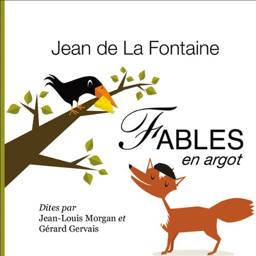 Fables de La Fontaine, en argot  cover art