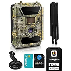 CreativeXP LTE 4G Cellular Trail Camera
