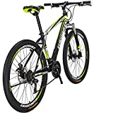 "Eurobike Mountain Bike X1 Bicycle 27.5"" 21Speed Duai Disc Brake Bike"