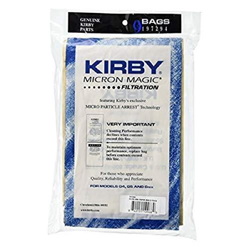 Kirby G4, G5, Gsix Micron Magic 197394, Braune Taschen, schwarzer Gürtel, 9