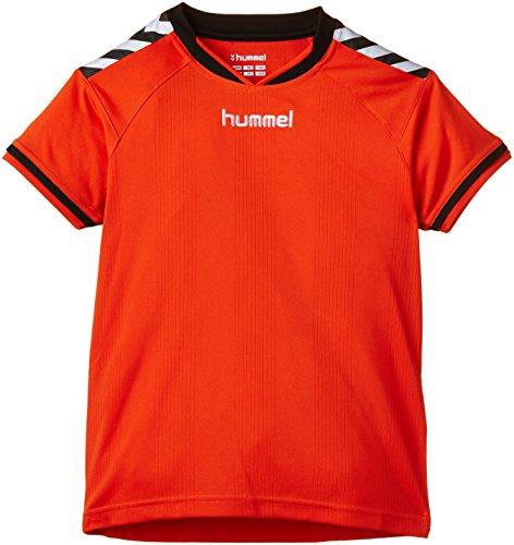 Hummel Kinder Trikot Stay Authentic Jersey, 03-554-3487, Fire Red,6-8 EU
