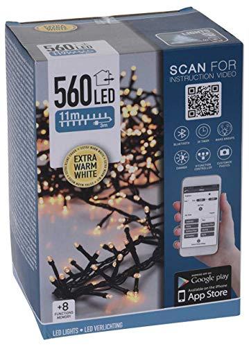 Made2trade Smart app-gestuurde led-lichtketting voor binnen en buiten