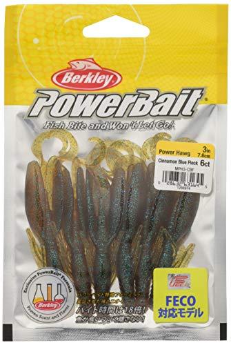 バークレイ(Berkley) ワーム クロー パワーホッグ3インチ シナモンブルーフレック MPH3-CBF