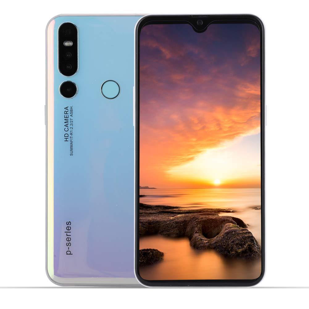 6.3 Pulgadas HD Pantalla Smartphone Desbloqueado Reconocimiento Facial Huella 2 + 32G Android 9.1 SIM Tarjeta Dual 3G Teléfono Móvil Inteligentecon con 4800mAh Batería (Enchufe UE): Amazon.es: Electrónica