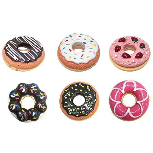 DISOK - Bálsamo Labial con forma de Donut. Regalos para boda, bautizo, comunión, cumpleaños, colegio, detalles.