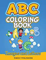ABC Coloring Book Images and Letters