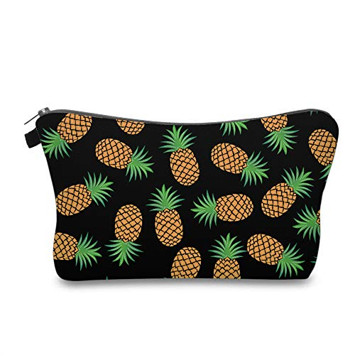 Cute Travel Makeup Bag Cosmetic Bag Small Pouch Gift for Women (Pineapple)