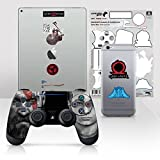 Controller Gear Officially Licensed God of War Dualshock 4 Wireless Controller and Tech Skin Set...