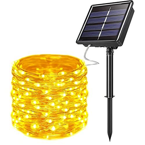 Solar Powered Outdoor String Lights