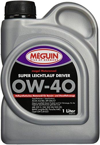 Meguin 4894 Megol Super LL Driver Motoröle SAE 0 W-40, 1 L