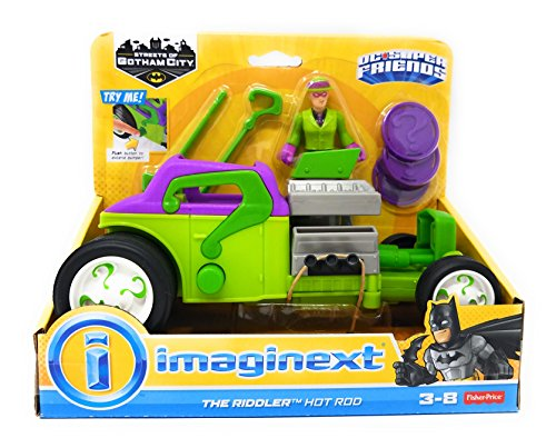 Imaginext? DC Super Friends The Riddler Hot Rod by Imaginext