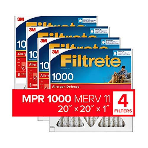 Filtrete 20x20x1, AC Furnace Air Filter, MPR 1000, Micro...