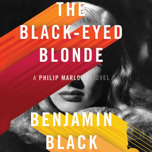 The Black-Eyed Blonde audiobook cover art