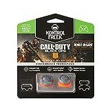 KontrolFreek Call of Duty: Black Ops 4 Grav Slam per Xbox One Controller   Levette Performance   1 alta Convessa, 1 media Convessa   Grigio/Arancione