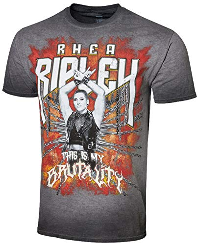 Rhea Ripley WWE This Is My Brutality Official Authentic Vintage Wash T-Shirt