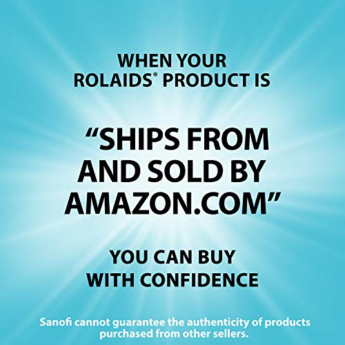 Rolaids Advanced Antacid Plus Anti Gas Tablets Mixed Berry, 60 Count (Pack of 1)