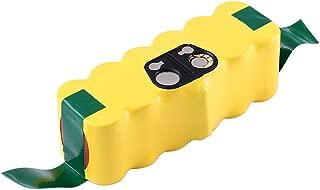 Powayup ルンバ バッテリー ルンバ用バッテリー ルンバ互換バッテリー ルンバ500・600・700・800シリーズ対応 14.4v 超長期間稼動 3800mAh 掃除機用バッテリー ニッケル水素電池 1年間長期保証付き 互換品
