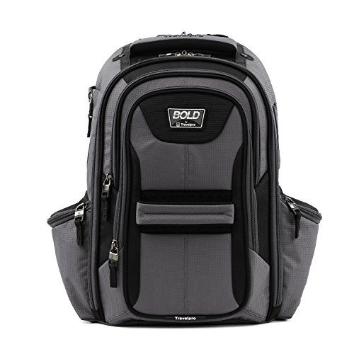 Travelpro Bold-Lightweight Laptop Backpack, Grey/Black, One Size