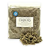 Gas Fireplace Glowing Embers, Rock Wool and Vermiculite Blend for Vented Gas Log Sets, Inserts and Fireplaces, Extra Large Bag 8 oz, Made in The U.S.A.