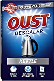 Oust Powerful Kettle Descaler, Limescale Remover Drop-in Bag – 6 x 1 Bag