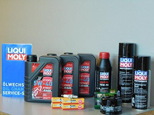 Gilera GP 800 Kit d'entretien avec filtre à huile et bougie d'allumage