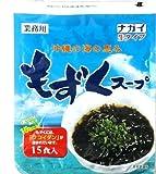 ナガイ ナガイ 沖縄の海の恵み もずくスープ 35g 15食入×96パック 生タイプ 業務用