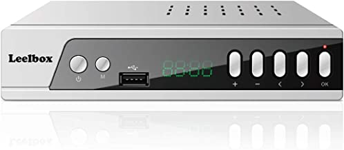 Digital Converter Box, Leelbox S3 ATSC Converter Box for Analog TV, HD 1080P HDTV Set Top Box for Recording PVR, Pause Live TV, USB Multimedia Playback 2019 Update Version
