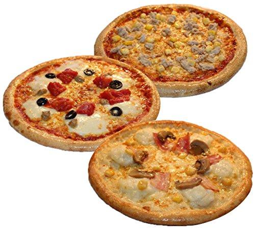 ピザ・カンピオーネ 冷凍 ピザ 3枚Aセット 【 ツナコーン / ジャーマングラタン / アモッツアレラトマト 】 手作り 国産小麦 使用 直径約 直径約22cm