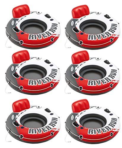 Intex River Run 1 Water Inflatable Tube Raft (6 Pack)