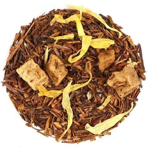 Mango Rooibos Tea - Loose Leaf Red Bush – Natural Flavours of Mango, Pineapple, Blackberry, & Calendula – Choose 20g or 80g in a stay-fresh resealable pouch (20g)