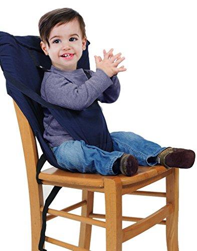 GudeHome Hochstuhl baby tragbarer Stuhl-Sitzgurt Hochstühle für Essen und Feiertagen Bequeme und nicht zu besetzen Raum Kindersitz Für Unterwegs Passt in die Tasche