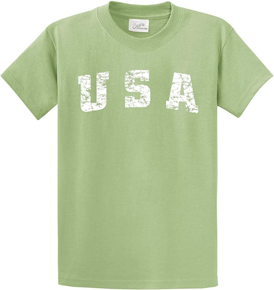 Joe's USA -Tall Vintage USA Logo Tee T-Shirts in Size X-Large Tall -XLT