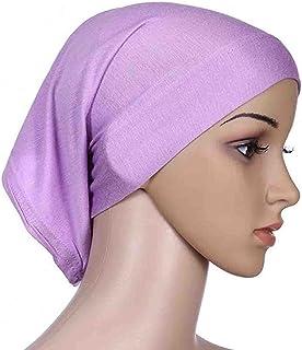 T- Hoofddoek, halsdoek, moslim voor dames, tulbandhoed, multifunctionele hoofddoek, hoofdbedekking, 30 cm x 24 cm, islamit...